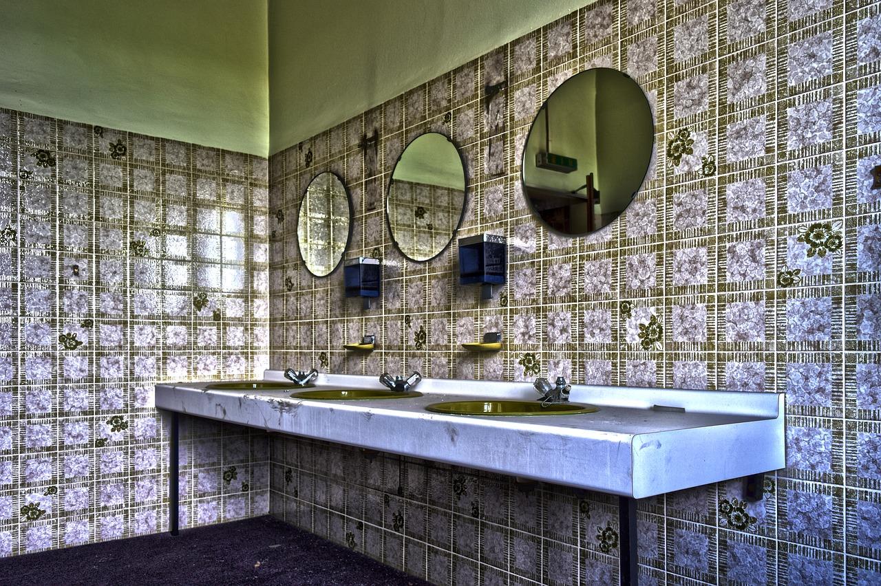 Okrągłe lustro do małej łazienki