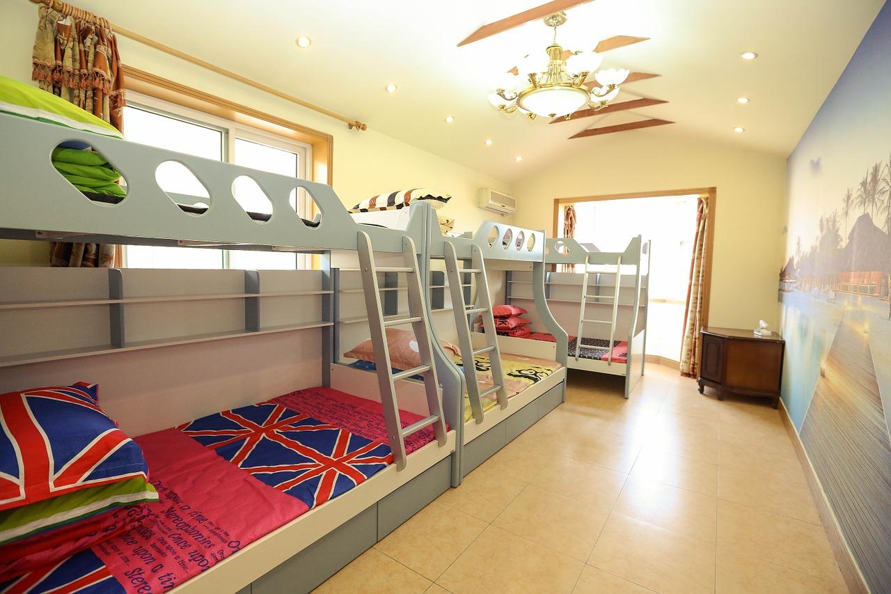 Piętrowe łóżka, są dobrą alternatywą dla naszych dzieci